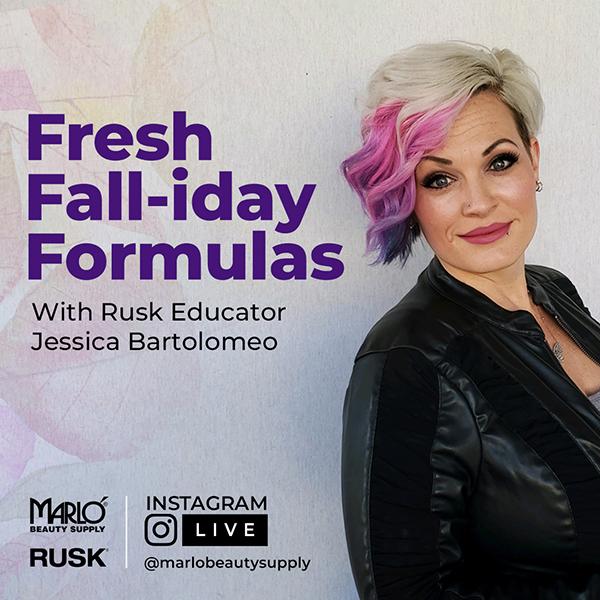 Instagram Live - Fresh Fall-iday Formulas