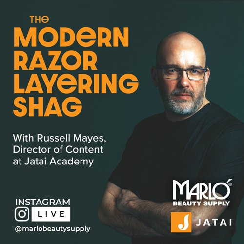 Instagram Live - The Modern Razor Layering Shag