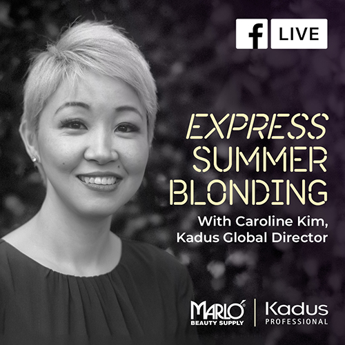 Facebook Live - Express Summer Blonding