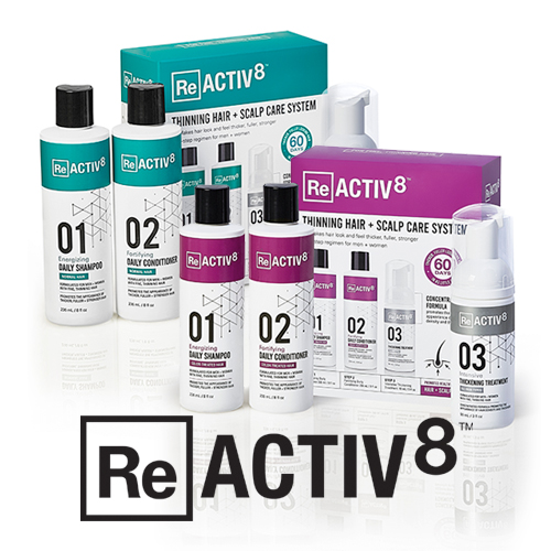 Reactiv8: Breakthrough Treatment for Thinning Hair
