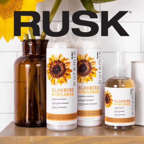 Bloom With Volume: Rusk Puremix Blooming Sunflower