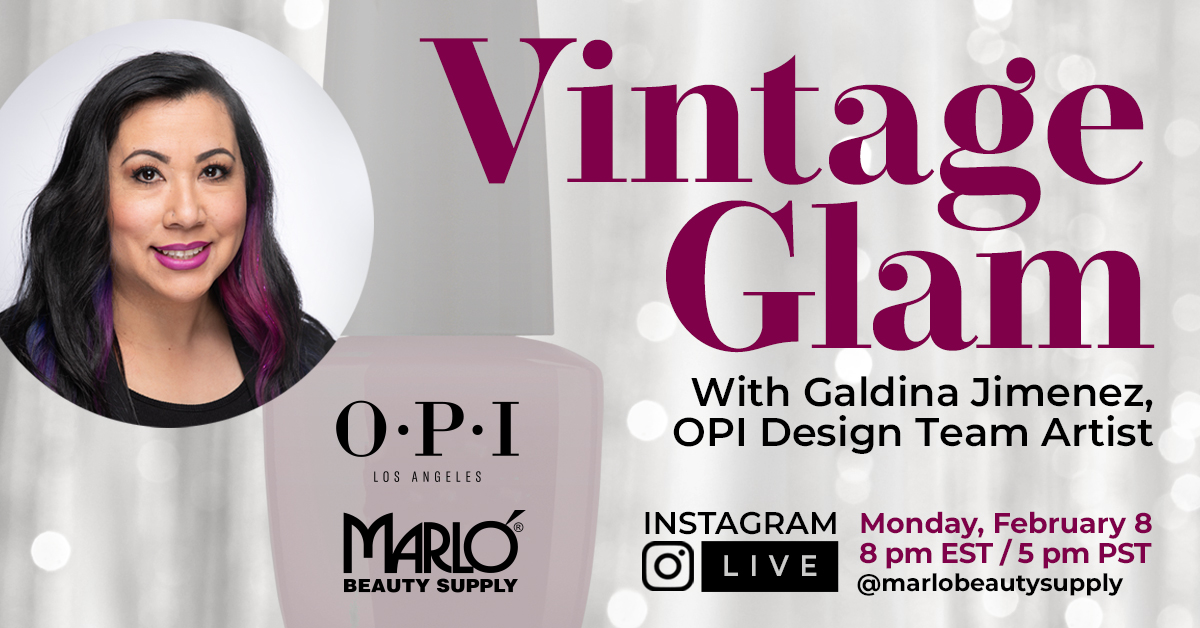 Vintage Glam with OPI