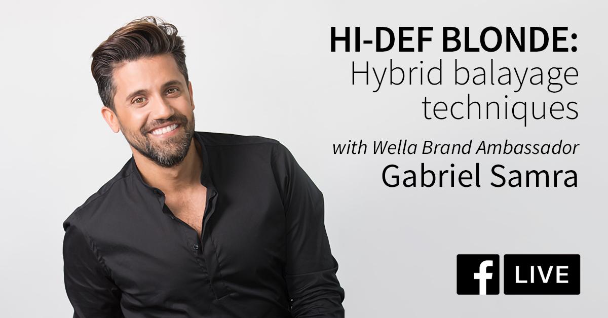 Hi-Def Blonde: Hybrid balayage techniques