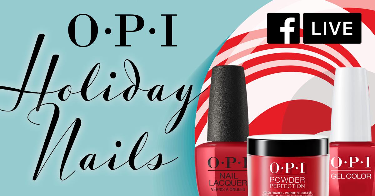 OPI Holiday Nails