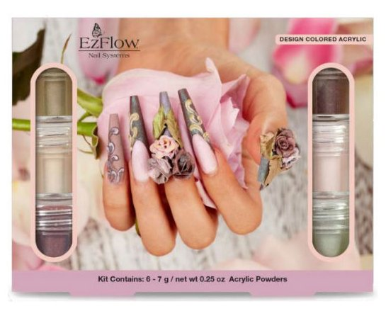 Ez Flow Colored Acrylic, Ethereal Blossom Collection)