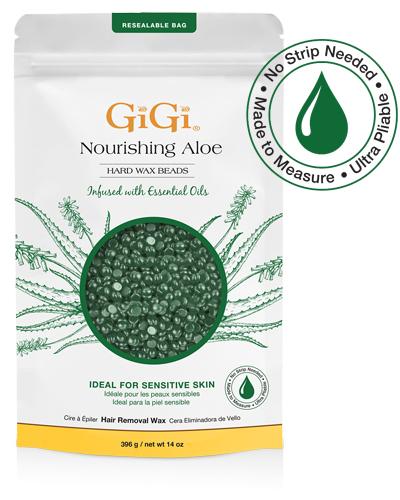 Gigi Nourishing Aloe Hard Wax Beads