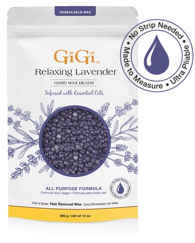 GiGi Relaxing Lavender Hard Wax Beads