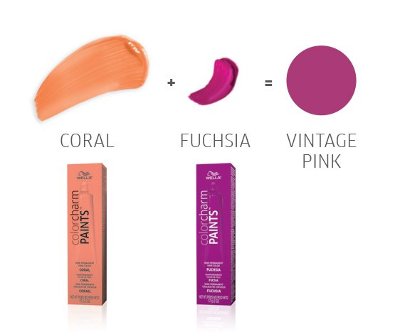 Wella Color Charm Paints Pink