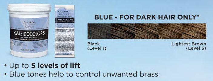 new kaleidocolor blue