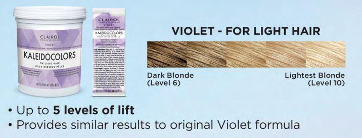 new kaleidocolor violet