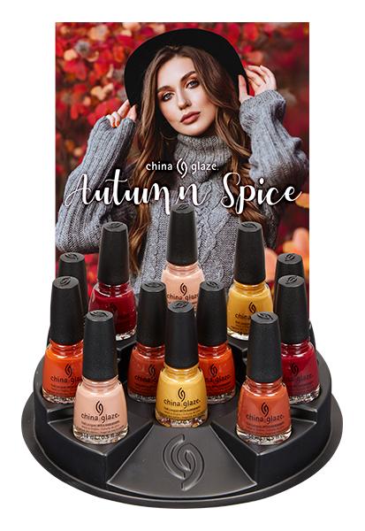 China Glaze Autumn Spice DIsplay