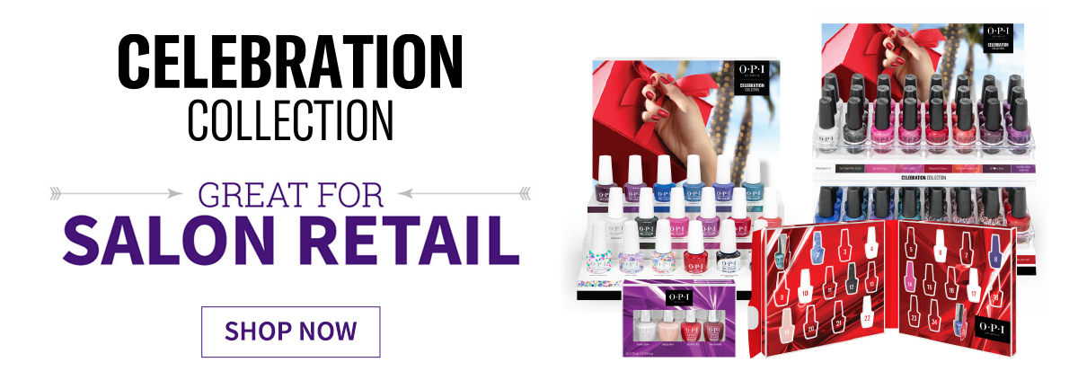 OPI Salon Retail Displays