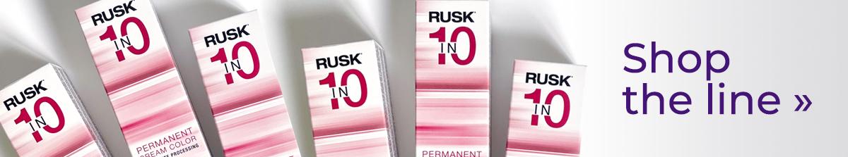Rusk In 10 haircolor