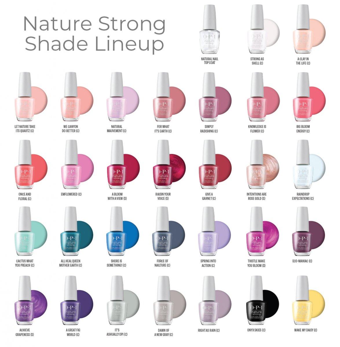 OPI Nature Strong Shades
