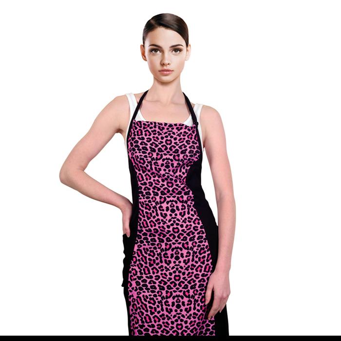 Cricket Slimming Apron - Hot Pink Cheetah