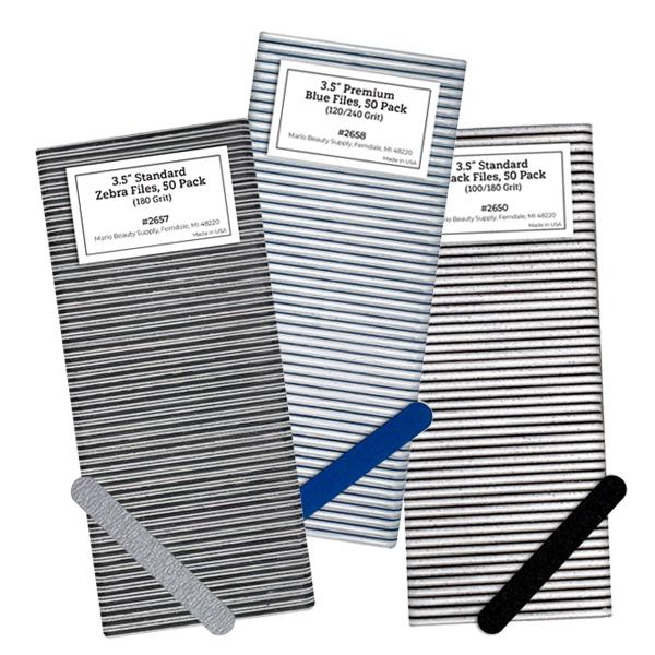 3.5 Nail Files, 50 Pack