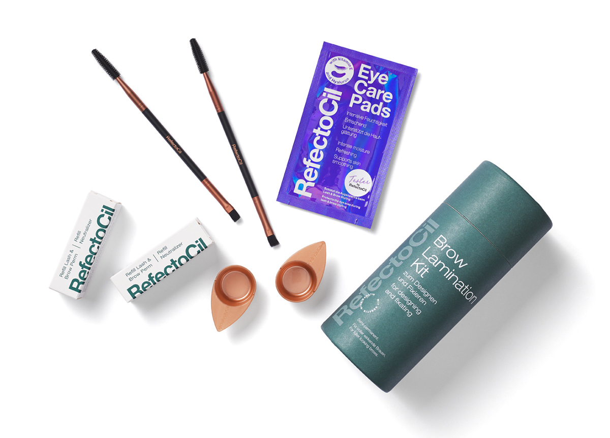 Refectocil brow Lamination Kit Contents