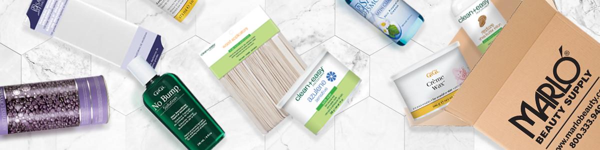 Waxing Supplies at Marlo Beauty