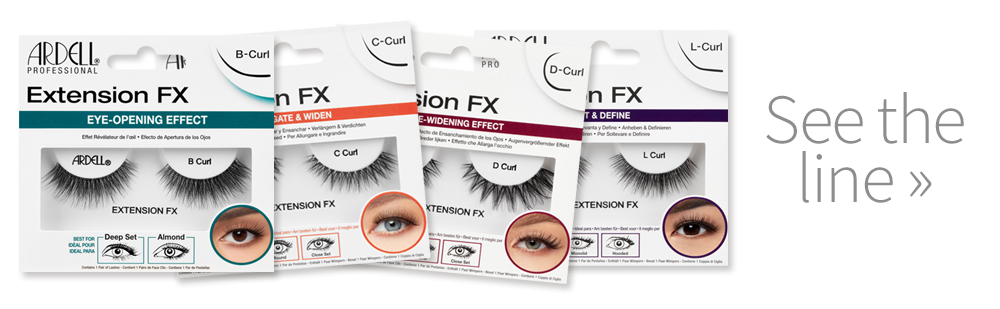 Ardell Extension FX lashes Packaging