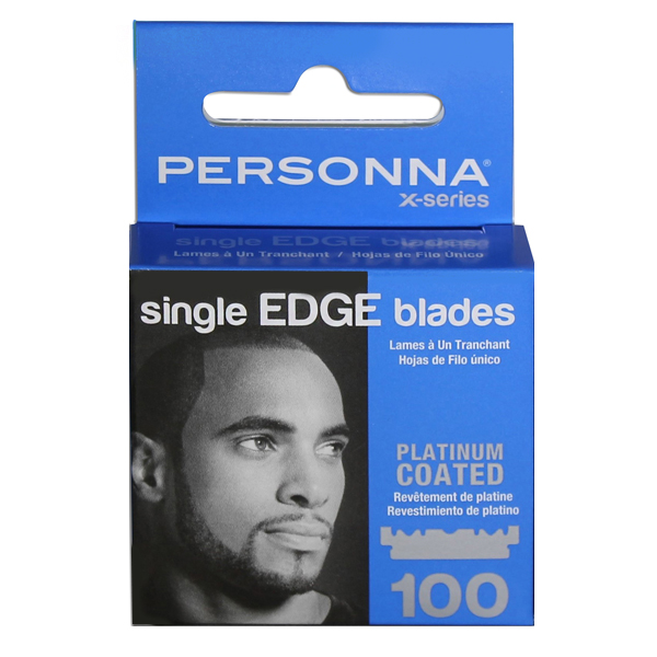 Personna Single Edge Blades, 100 Pack