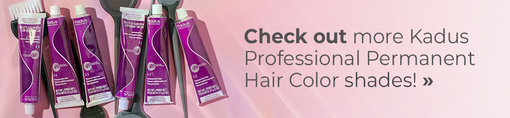 Check out more Kadus Professional Permanent Hair Color shades!
