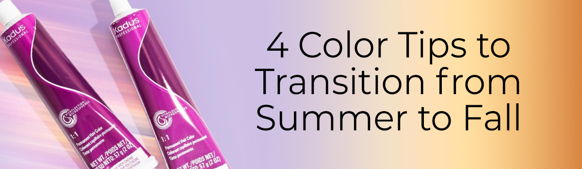 4 Color Tips to Transition from Summer to Fall