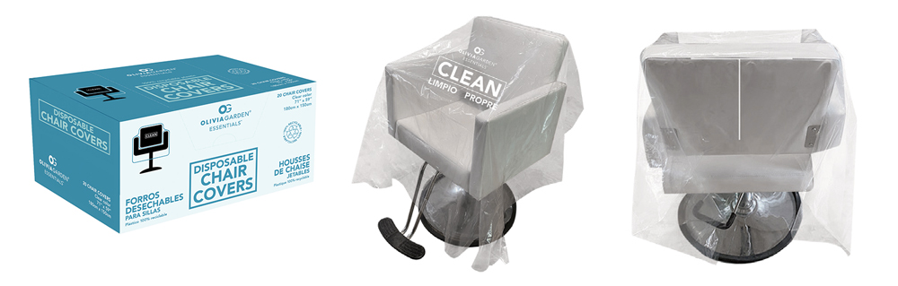 Olivia Garden Disposable Clear Chair Covers