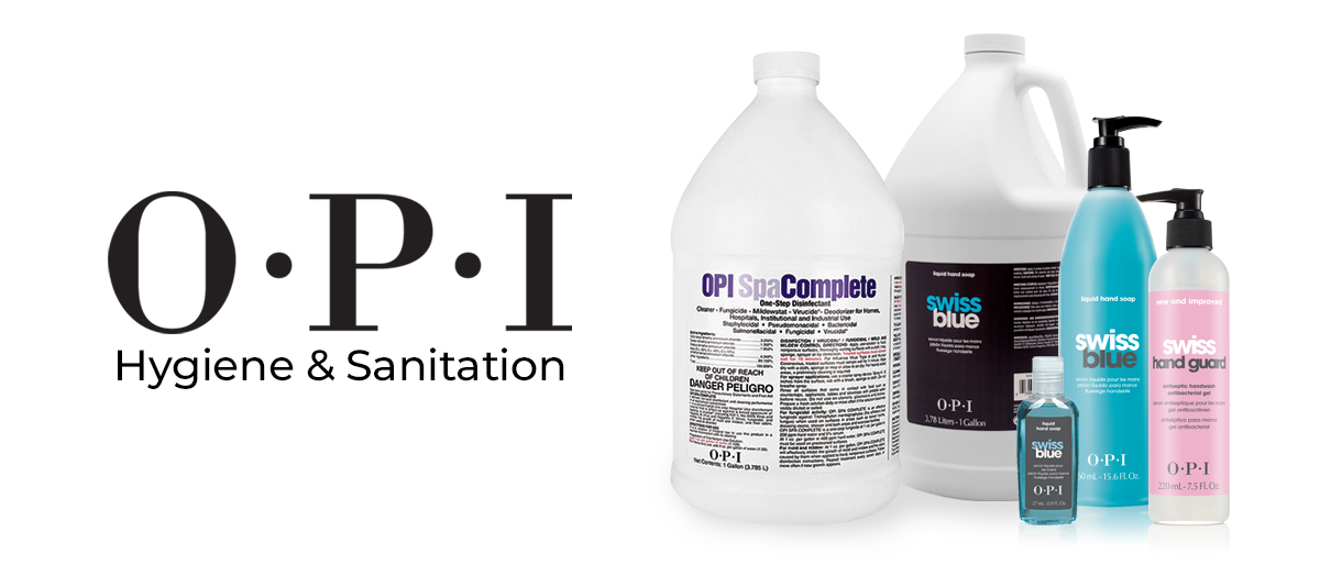 OPI disinfectants
