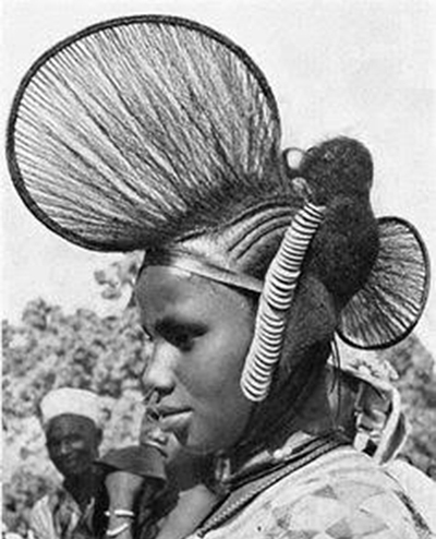 Akela's hairfan  inspiration