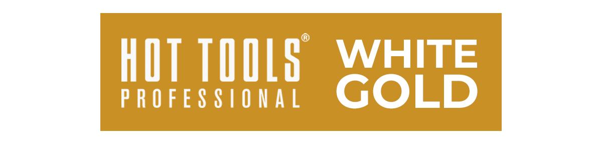 Hot Tools White Gold Logo