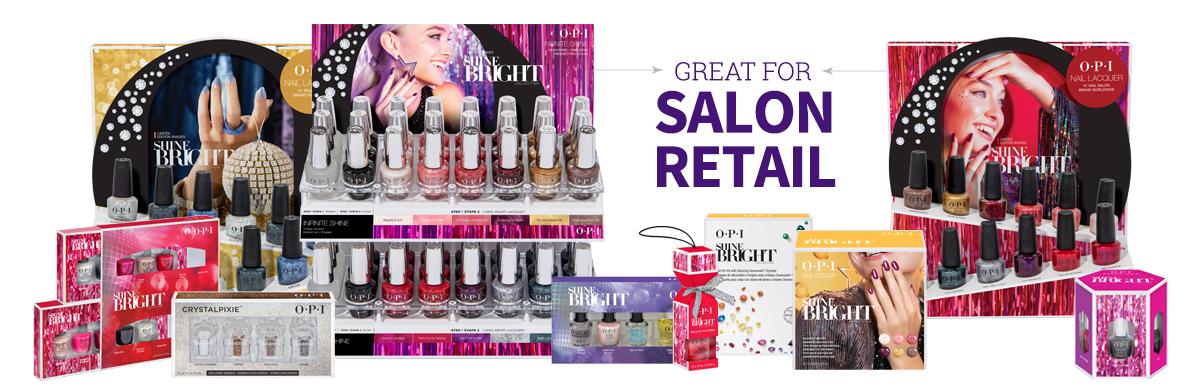 OPI Shine Bright Salon Retail