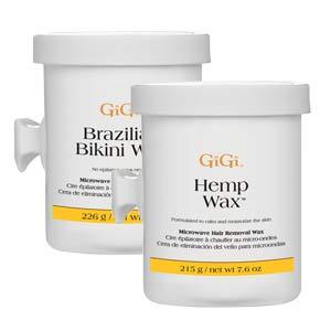 GiGi Hemp or Brazilian Bikini Microwave Wax
