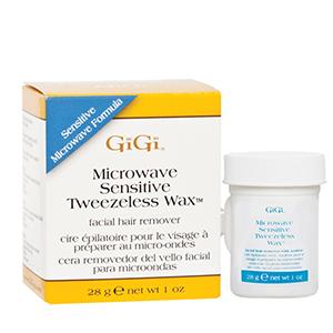 GiGi Sensitive Tweezeless Microwave Wax, 1 oz