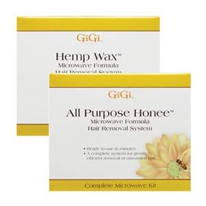 GiGi All Purpose Honee or Hemp Wax Microwave Kit