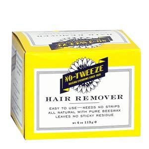 No-Tweeze Hard Wax Hair Remover, 4 oz