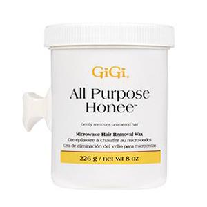GiGi All Purpose Honee Microwave Wax, 8 oz