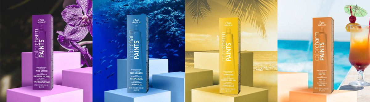 Wella Paints Tropical Collection
