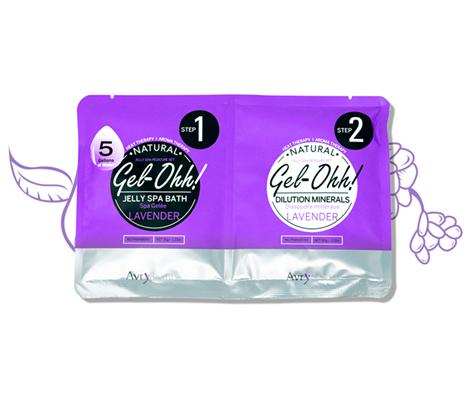 Gel-Ohh Jelly Spa Pedi Bath
