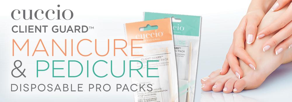 Cuccio's Client Guard Manicure and Pedicure Disposable Pro Packs