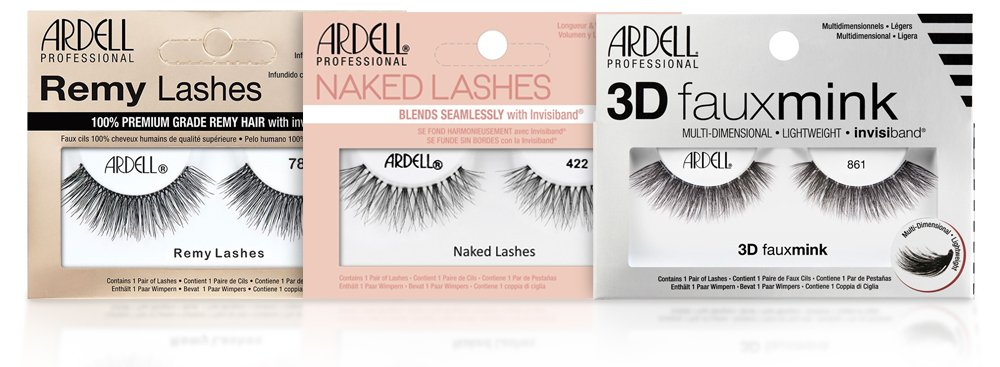 Ardell Lashes Remy, 3D Mink, Naked Collection