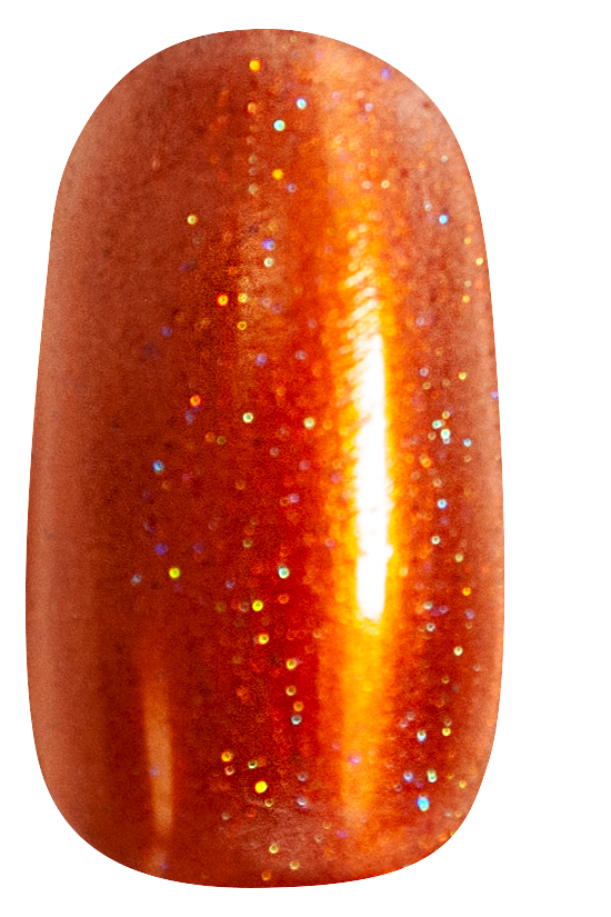 Halloween Ombre Accent Nail Step 1