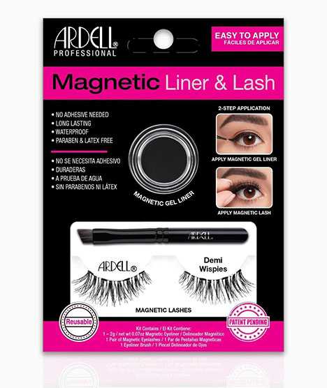 Ardell Magnetic Liner & Demi Wispies lash: