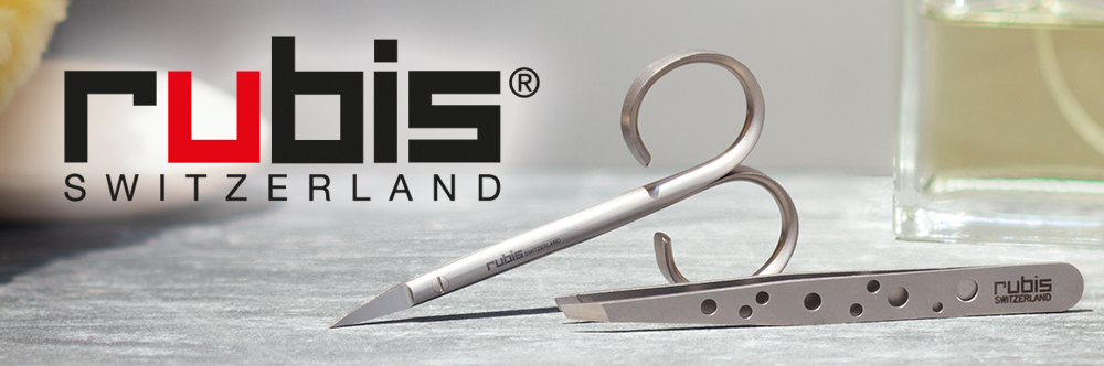 Rubis Tweezers and Scissors