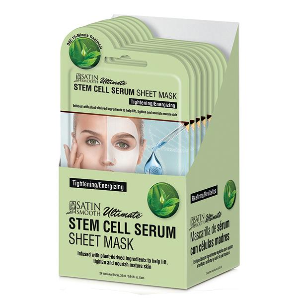 Satin Smooth Stem Cell Serum Sheet Mask