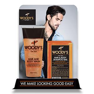 Woody's Hair & Body Wash & Bar