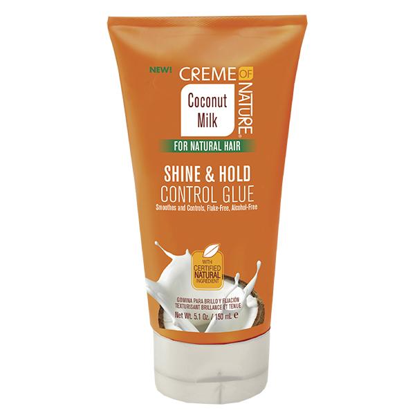 Creme of Nature Coconut Milk Shine & Hold Glue, 5.1 oz