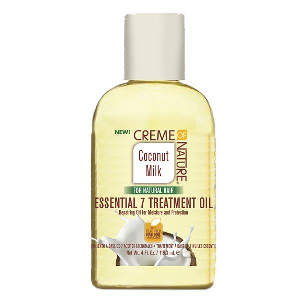 Creme of Nature Coconut Milk Essential 7 Treatment Oil, 4 oz