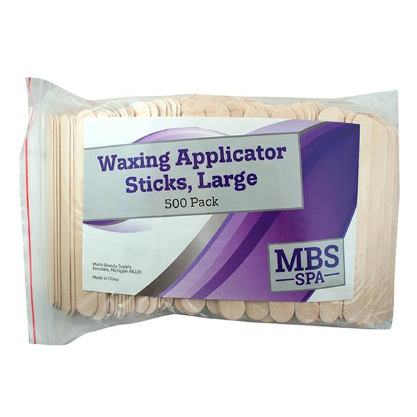 Large Waxing Applicator Sticks