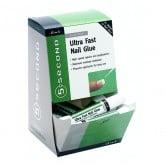 IBD 5 Second Ultra Fast Nail Glue, 2 gram (12 Piece Display)