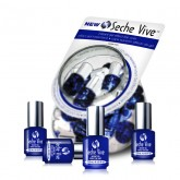 Seche Vive Gel Effect Top Coat, .125 oz (36 Piece Bucket)